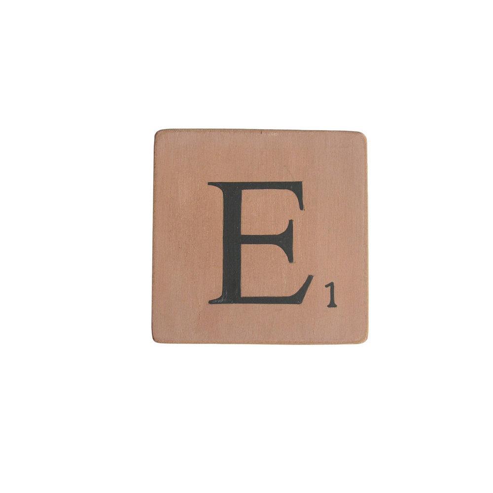 Lettres en bois d co rose 15 carr - Experte en composants 15 lettres ...