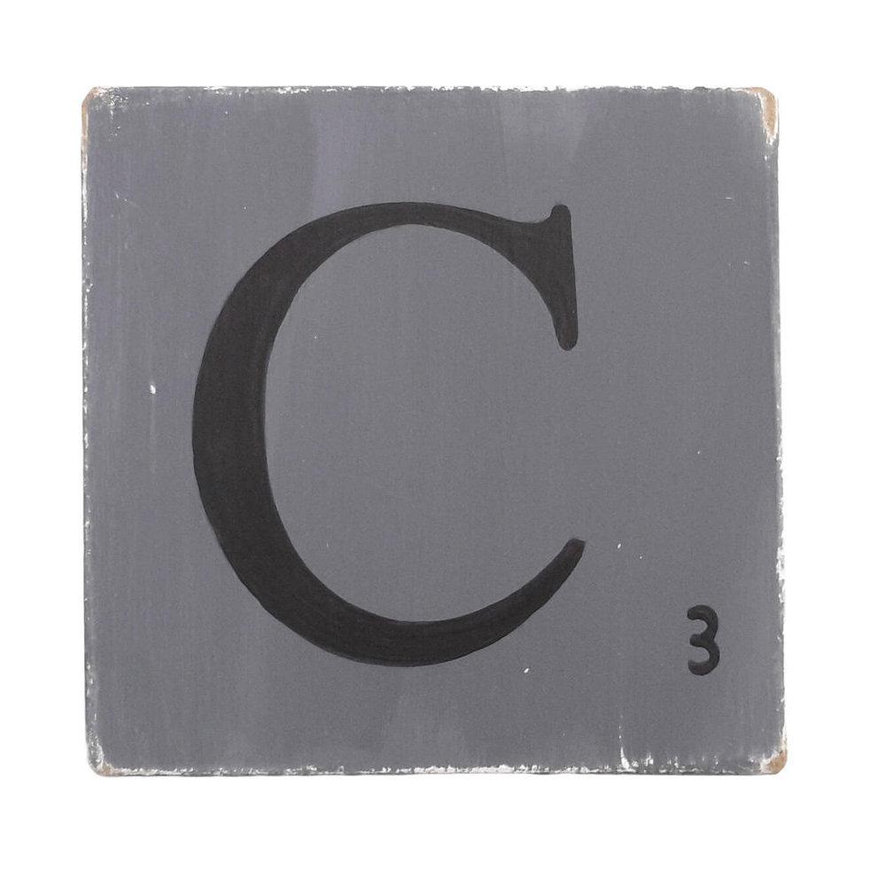 Lettres En Bois D Co Zinc 15 Cm