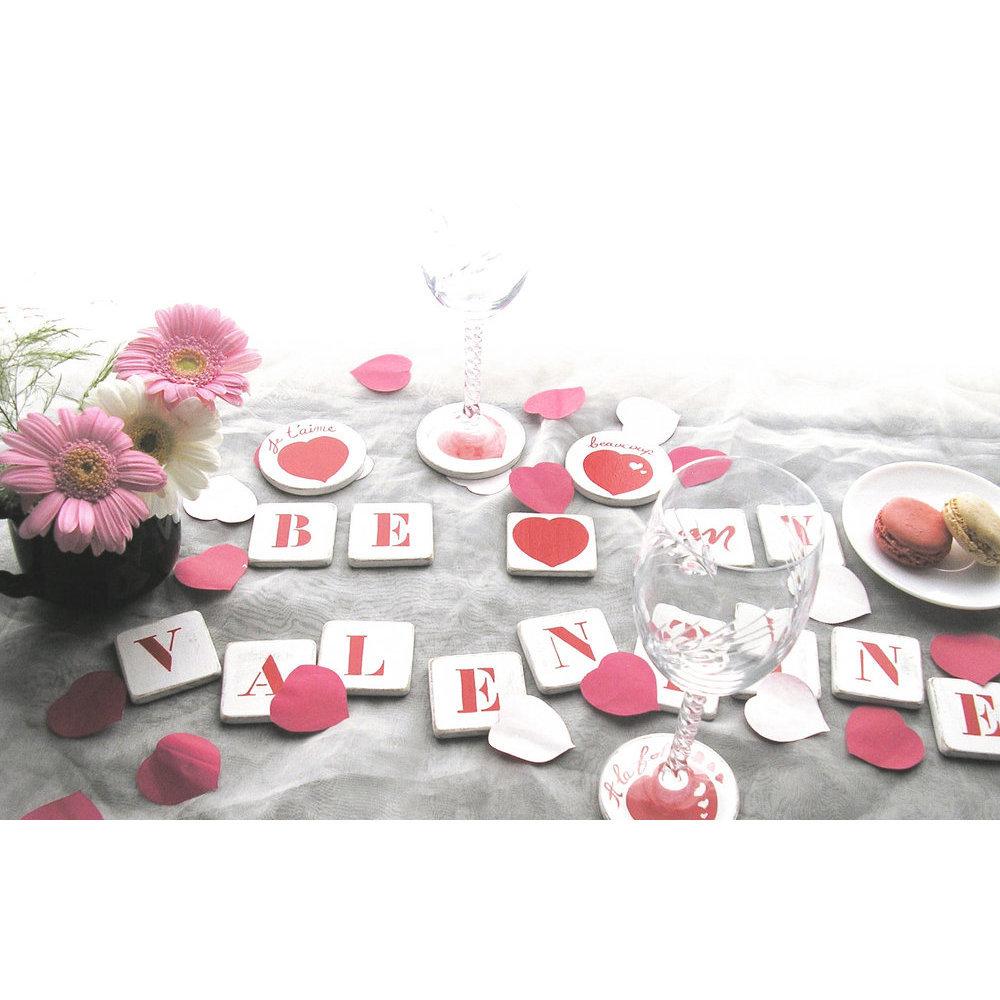 Centre de table saint valentin - Decoration saint valentin ...