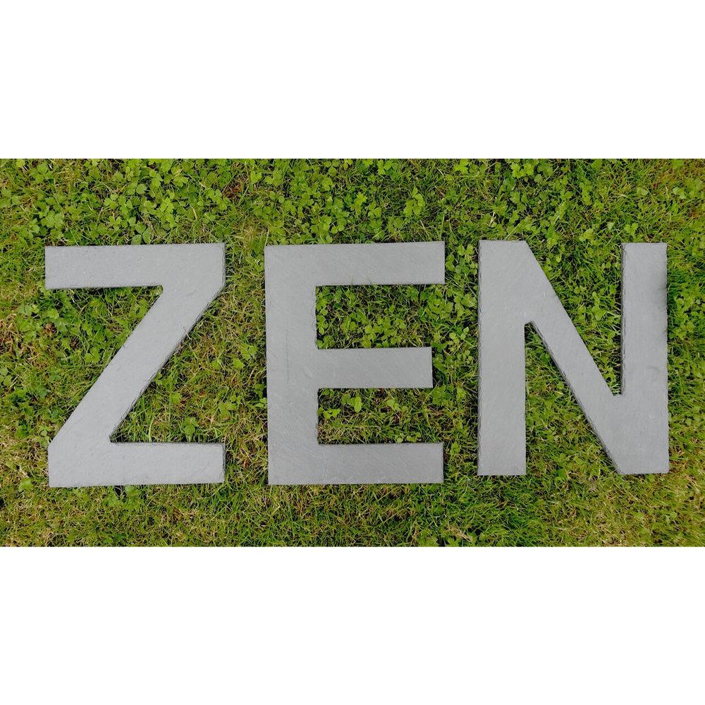 lettre zen Lettre zen deco lettre zen