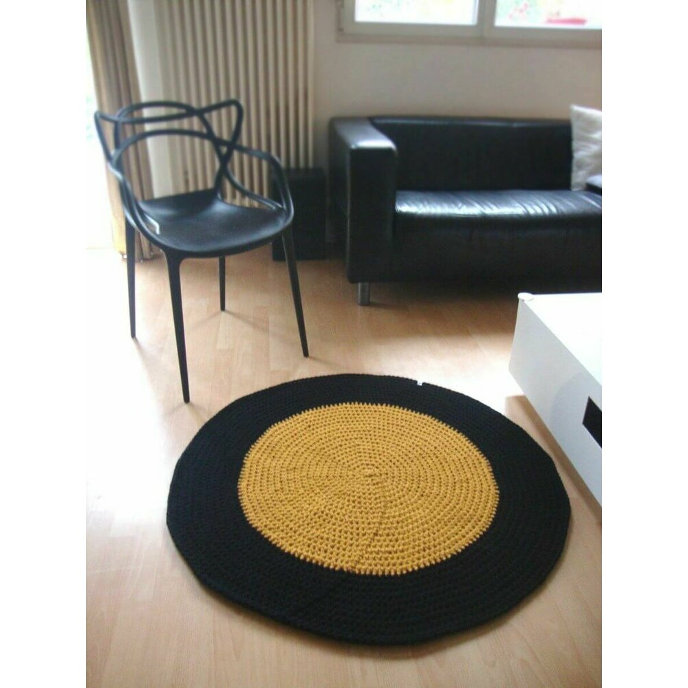 Tapis Rond Personnalise