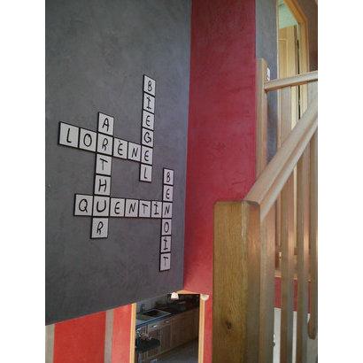 decoration murale 9 lettres