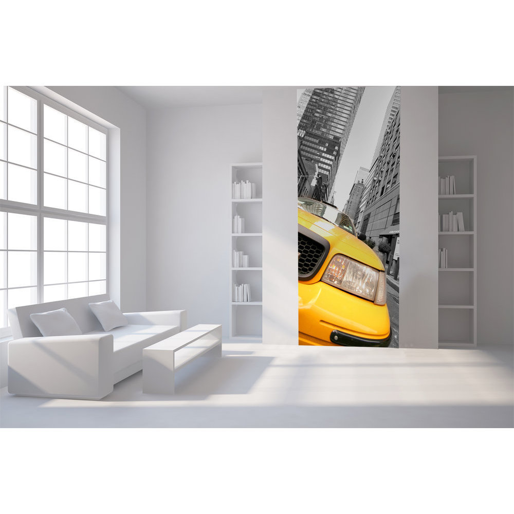 Papier peint deco new york taxi jaune for Papier peint new york castorama
