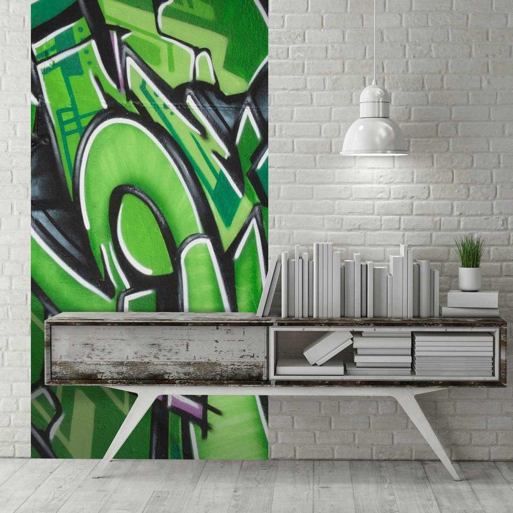 Acheter Le De Papier Peint Original Motif Tag Et Graffiti