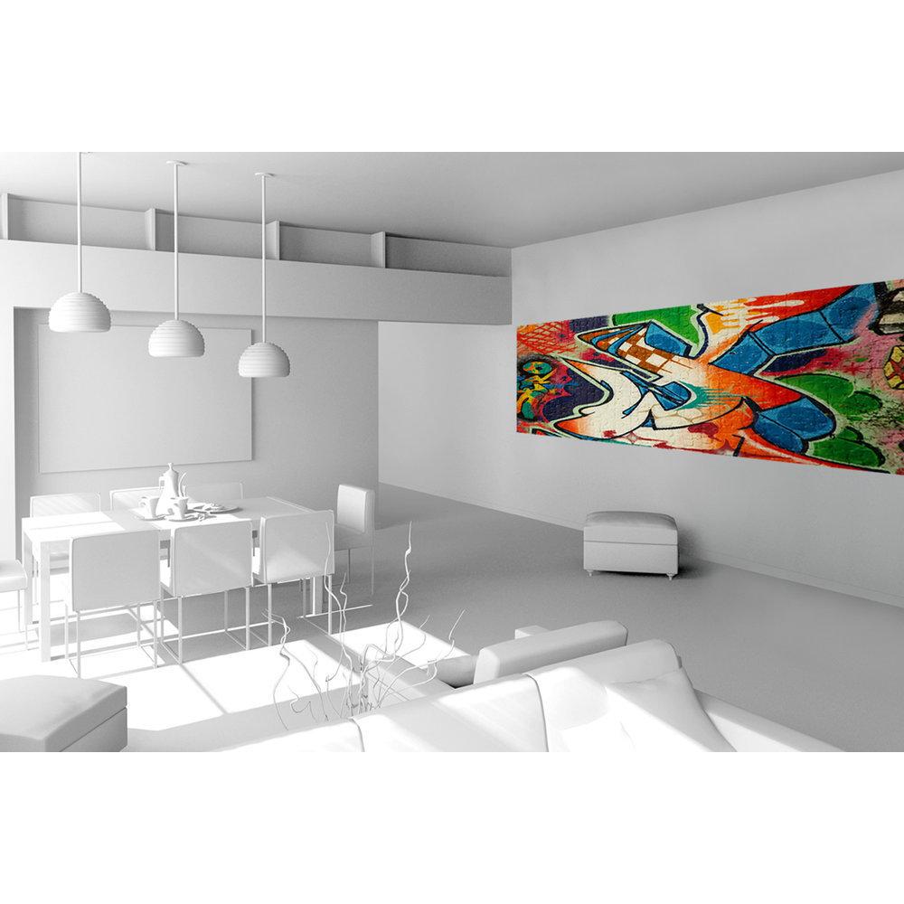 papier peint tag street. Black Bedroom Furniture Sets. Home Design Ideas
