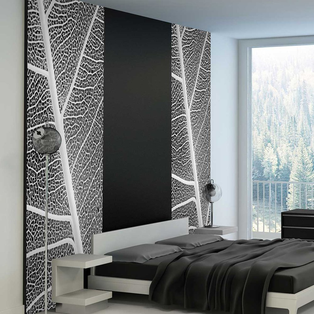papier peint nature. Black Bedroom Furniture Sets. Home Design Ideas