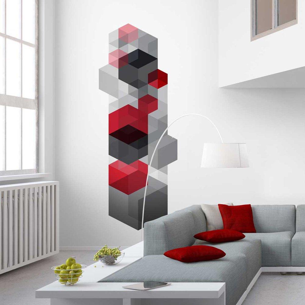 Decoration geometrique - Le papier peint ...