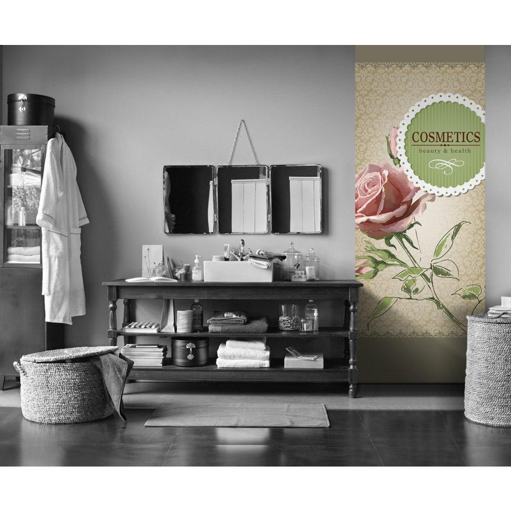 papier peint fleur vintage. Black Bedroom Furniture Sets. Home Design Ideas