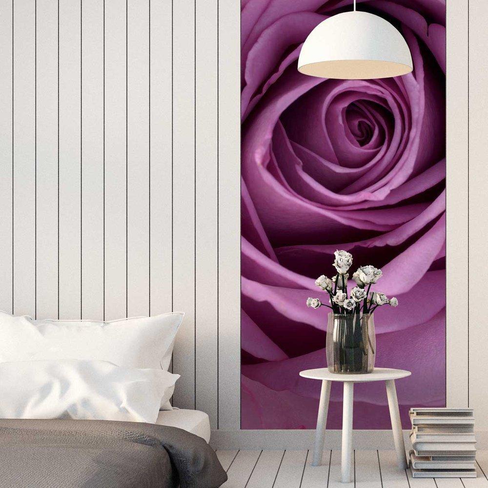 papier peint rose pourpre. Black Bedroom Furniture Sets. Home Design Ideas