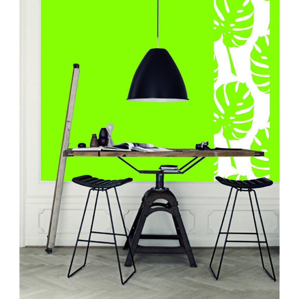 papier peint feuillage. Black Bedroom Furniture Sets. Home Design Ideas