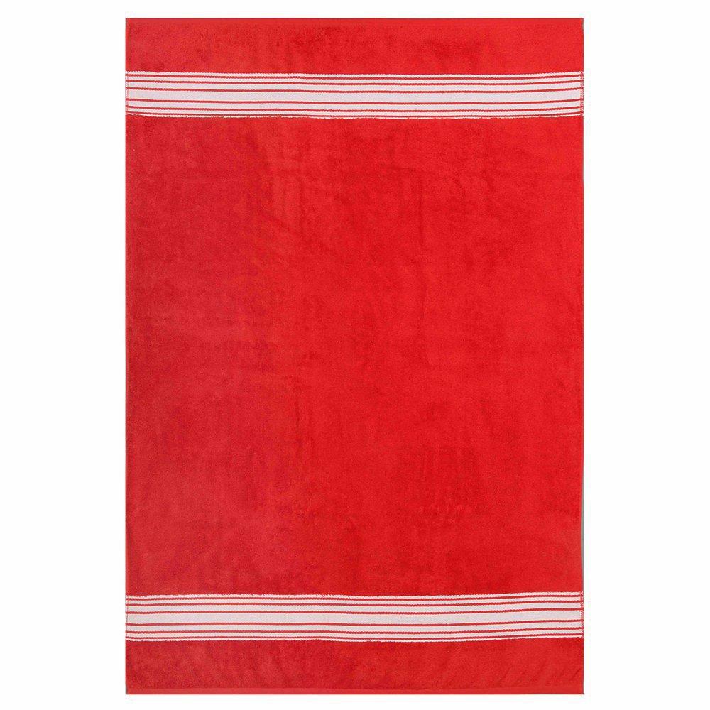 Tapis de salle de bain rouge for Tapis salle de bain rouge