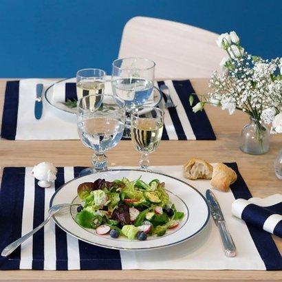 Set De Table Bleu Linge De Maison Jean Vier