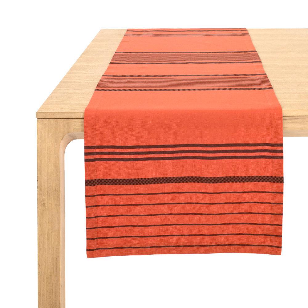 chemin de table lin blanc. Black Bedroom Furniture Sets. Home Design Ideas