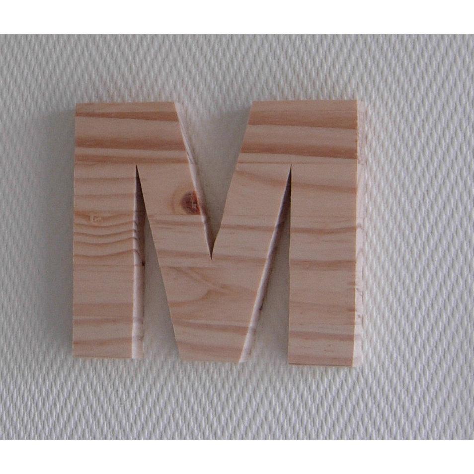 Lettre en bois a peindre 25 cm - Grosse lettre en bois a peindre ...