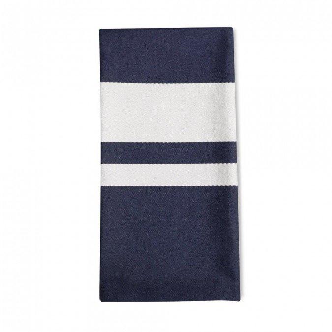 Serviette de table bleu - Serviette de table bleu roi ...