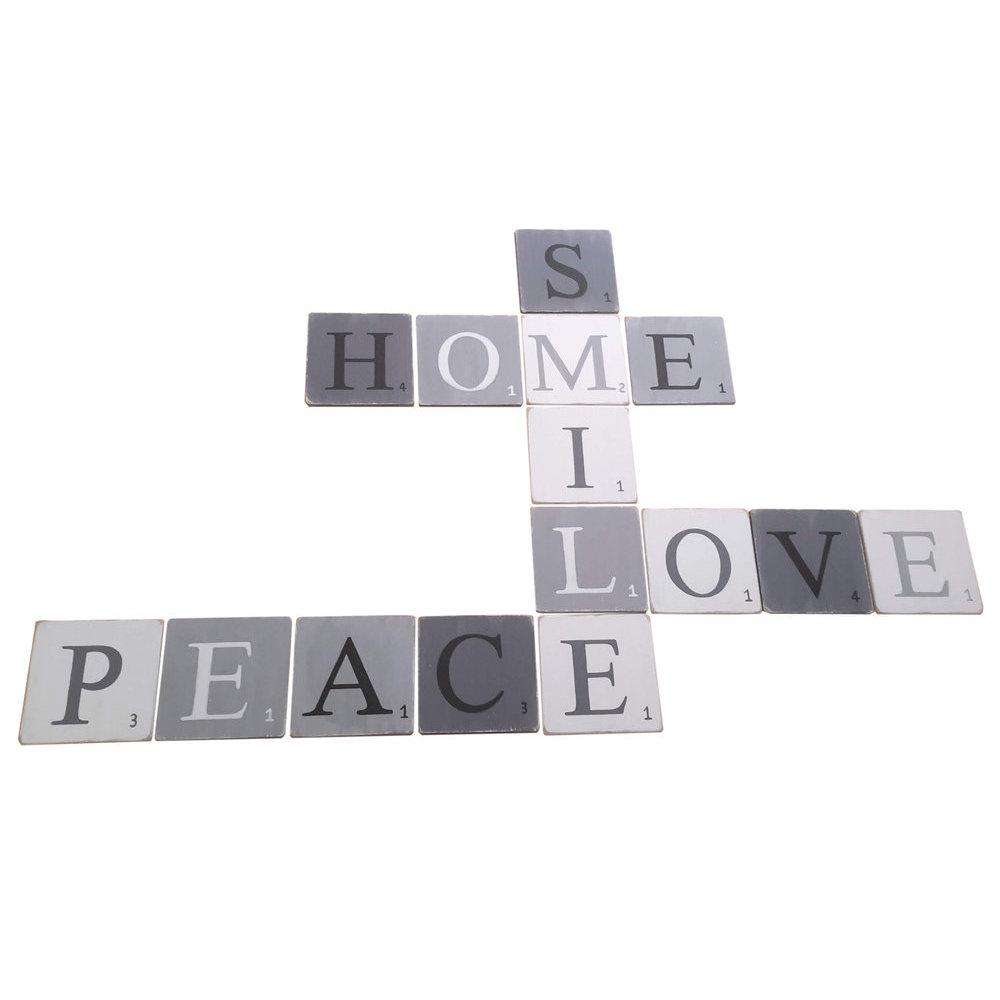 lettre en bois scrabble. Black Bedroom Furniture Sets. Home Design Ideas