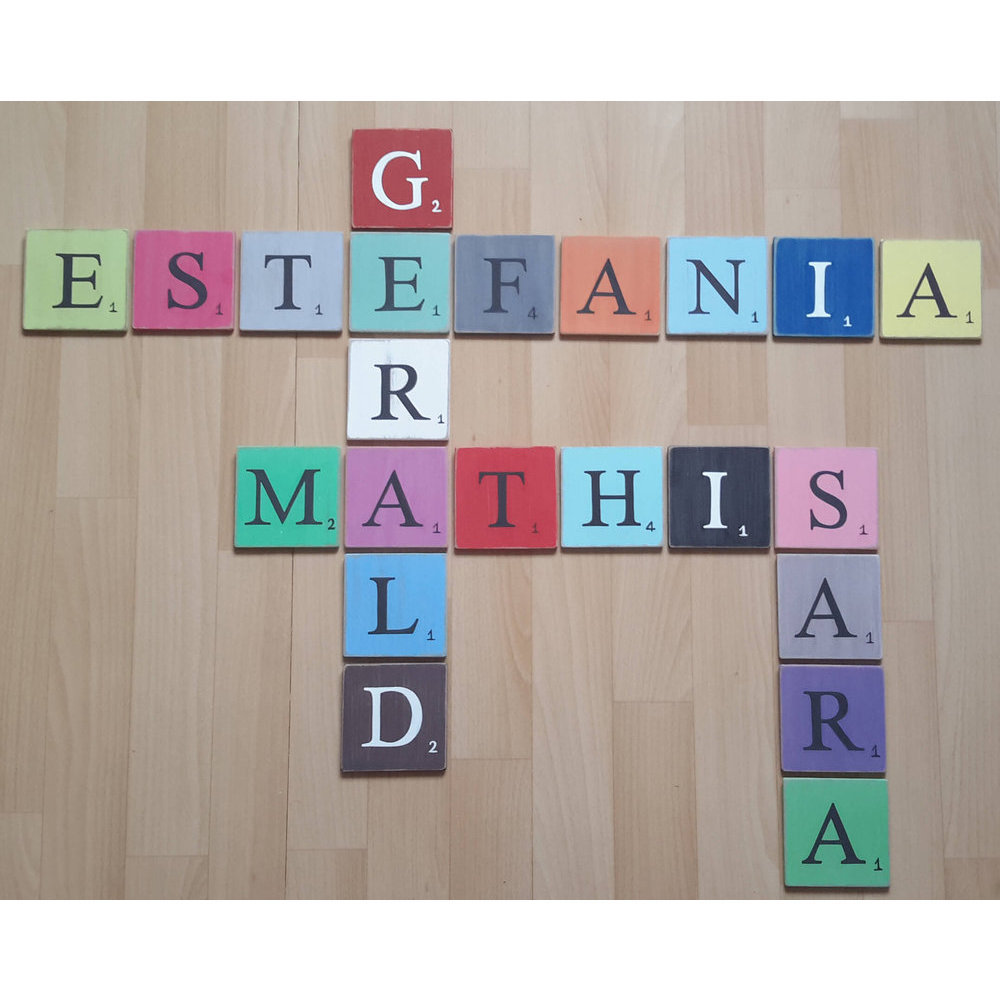 Scrabble deco - Deco lettre scrabble ...