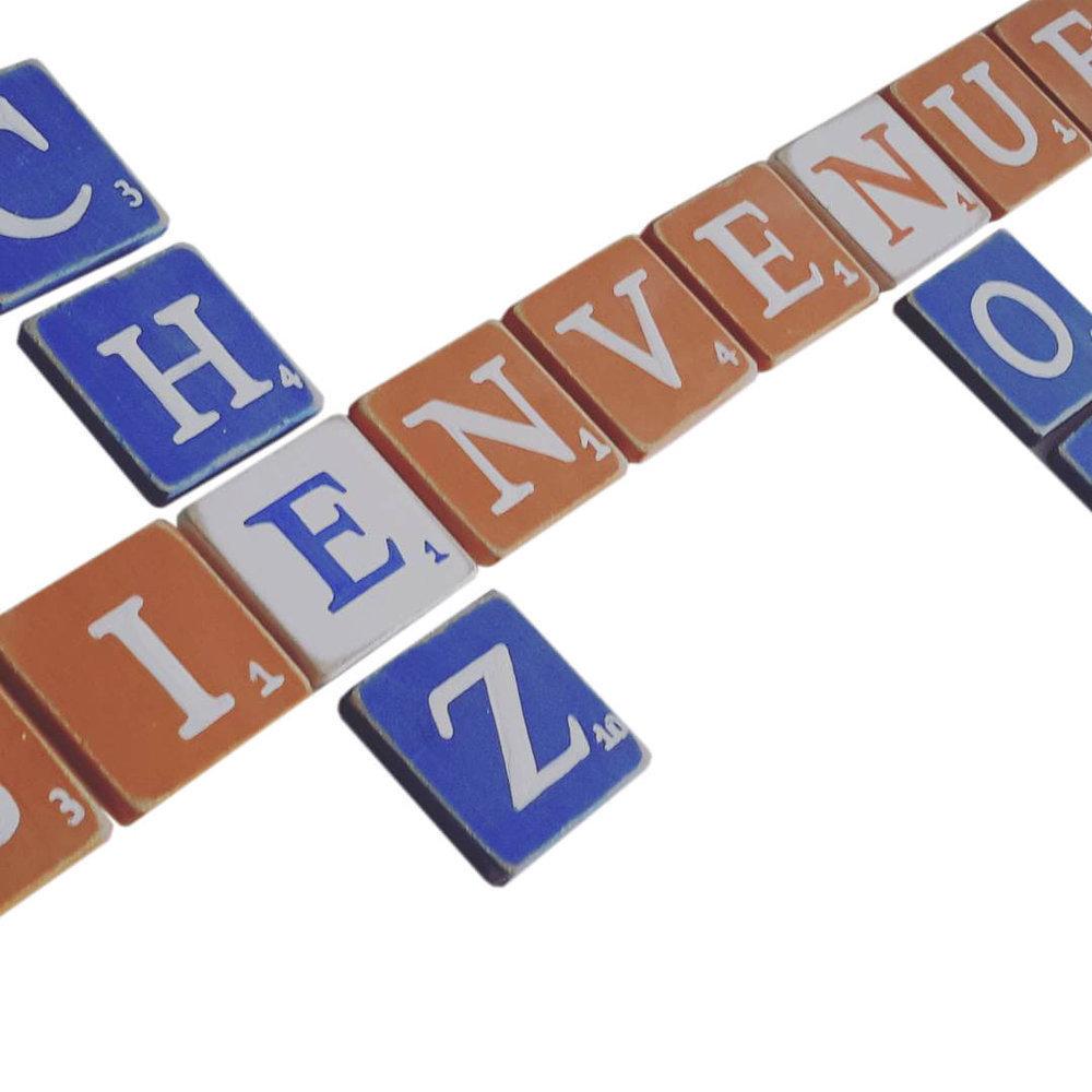 D coration lettres nom a poser sur table - Lettre decorative a poser ...