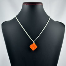collier lego orange
