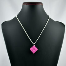collier lego rose