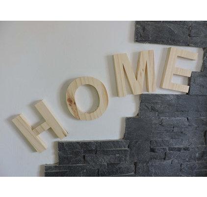 Lettre decoratives bois 15 cm - Lettre decorative en bois ...