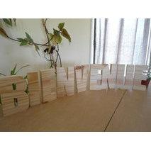 Lettre en bois d corative peindre - Lettre decorative a peindre ...