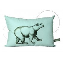 coussin mini Ours blanc