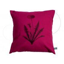 coussin fleurs rose fushia. Black Bedroom Furniture Sets. Home Design Ideas