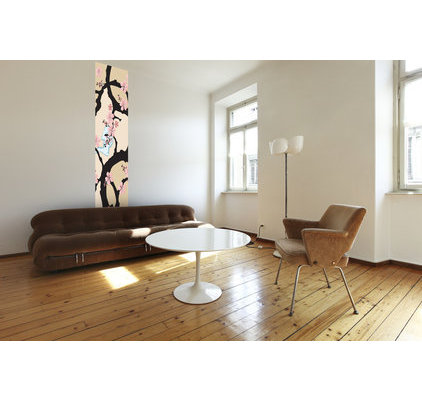 papier peint fleur de cerisier. Black Bedroom Furniture Sets. Home Design Ideas