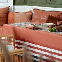 Nappe orange rouge