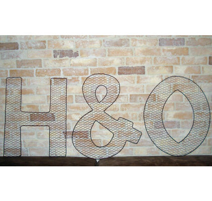 D co grillage poule - Deco lettres murales ...