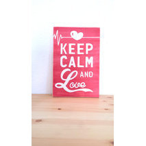 Keep calm + votre texte, design N°5