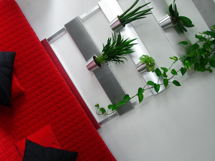 Le gard 39 n 39 wall un jardin int rieur qui fait son effet Deco murale originale