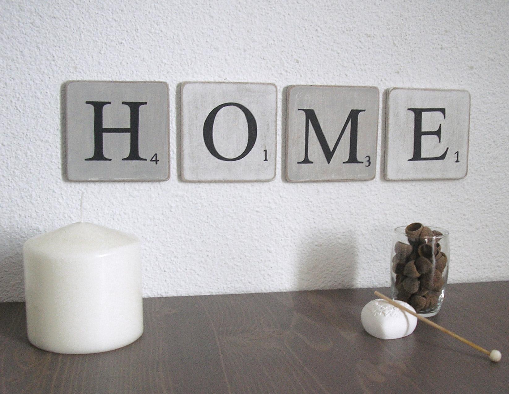 Lettre home - Deco lettres murales ...