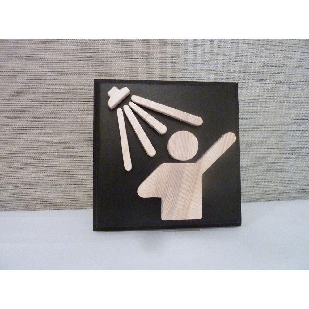 Salle De Bain Plaque idée decoration salle de bain en bois