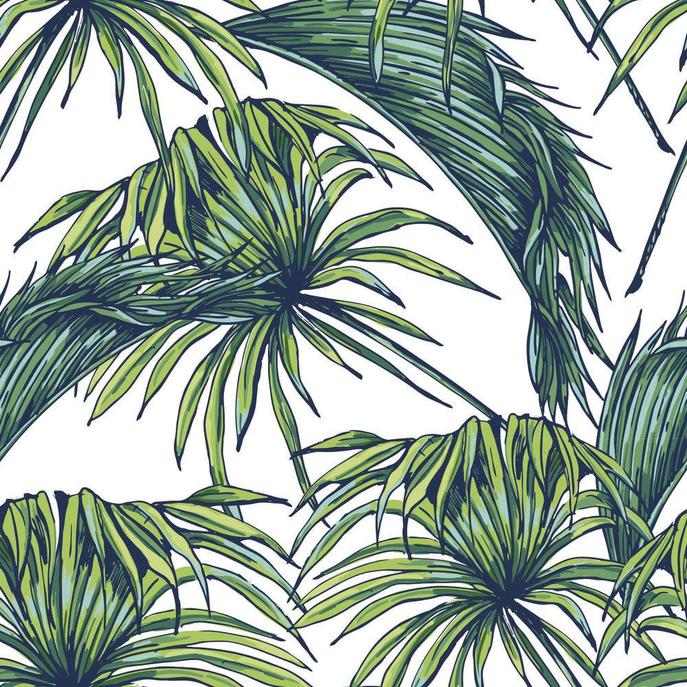 achat papier peint d coration murale motif feuillage. Black Bedroom Furniture Sets. Home Design Ideas