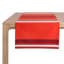 Chemin de table orange