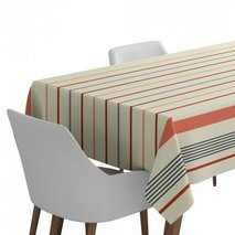 Nappe de table grise