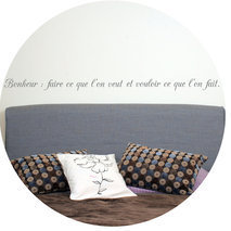 Sticker citation chambre