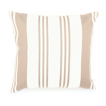 Coussin design basque Maia Blanc