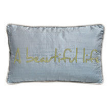 Coussin message A beautiful life