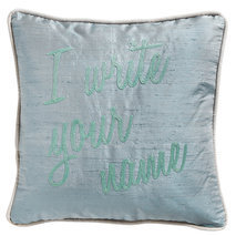 "Coussin ""I write your name"""