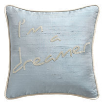 "Coussin message ""I'm a dreamer"""