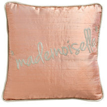 "Coussin message ""Mademoiselle"""