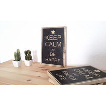 Keep calm + votre texte, design N°1