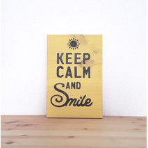 Keep calm + votre texte, design N°6