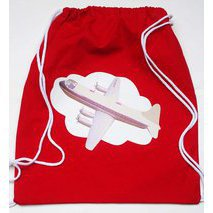 Tote bag enfant avion