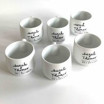 Set tasses café