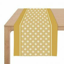 Chemin de table jaune Bilbatu