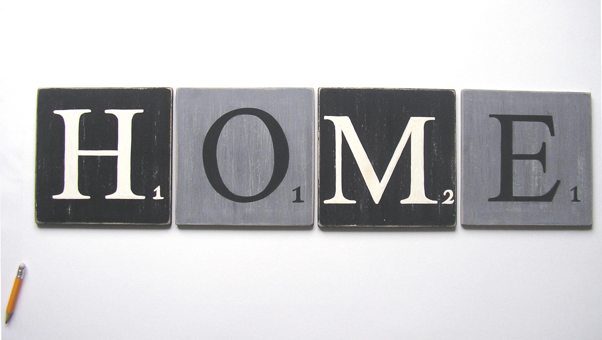 lettres home décoratives